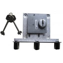 System mechanizmu blokującego klucze